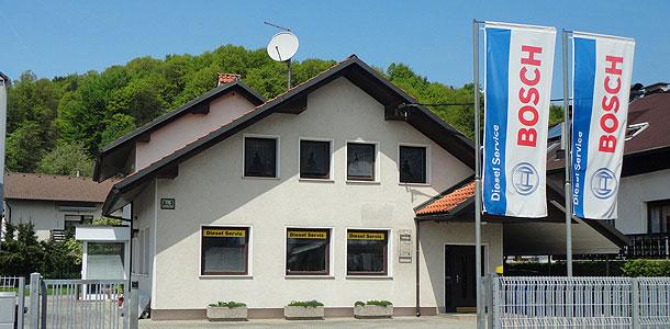 Naš servis Bosch diesel servis se nahaja v Ljubljani.